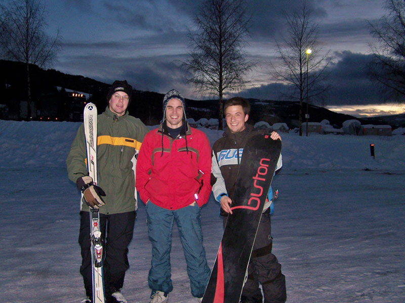Die Snowboarder-Bande